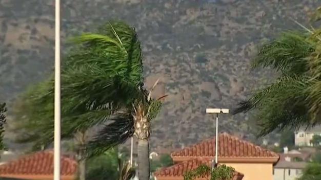 ¿Hasta cuándo continuarán los vientos de Santa Ana?