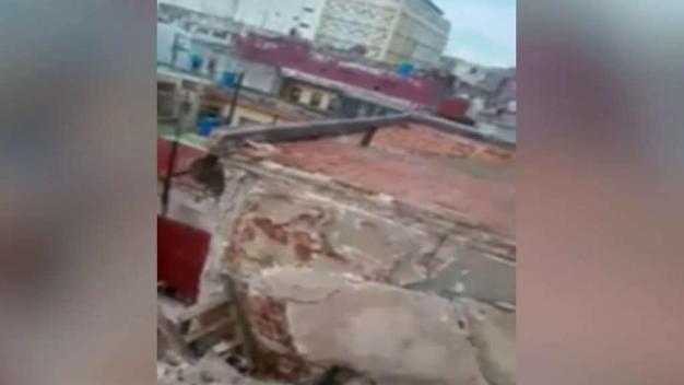 Se derrumba otro edificio en La Habana