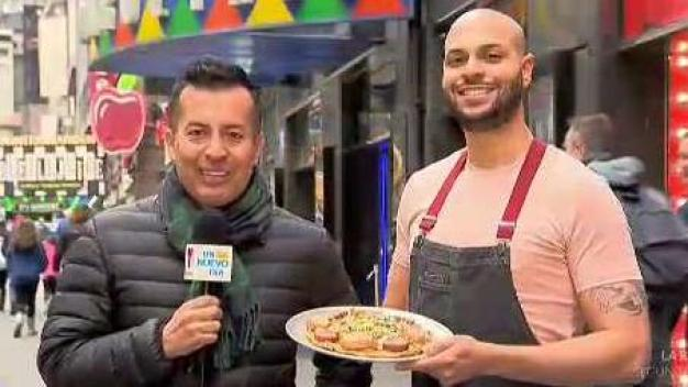 """Chef Papi"" devela secretos de su pizza dominicana"