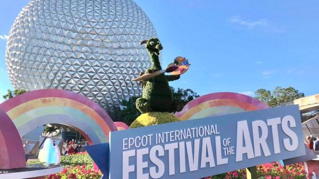 Comienza el Festival Internacional de Artes en Epcot
