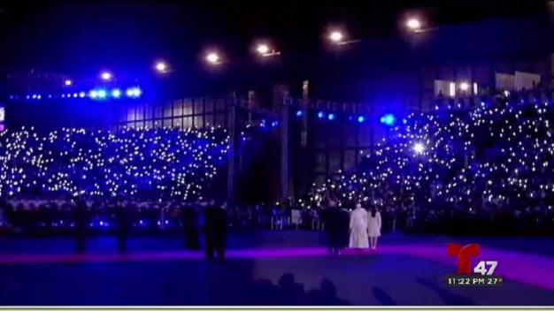 Gran festejo en México tras llegada Papal