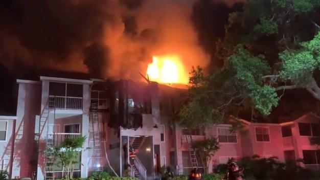 Incendio en Lake Mary deja varias familias desplazadas