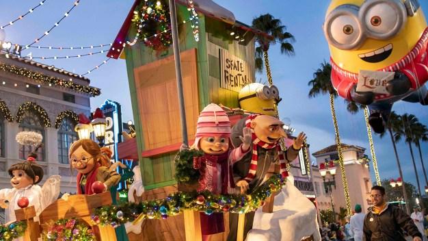 Comienza la navidad en Universal Orlando