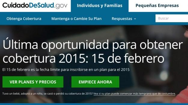 Domingo 15, límite de inscripción a Obamacare