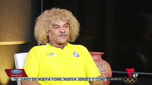 """Entrevista con el """"Pibe"""" Valderrama"""