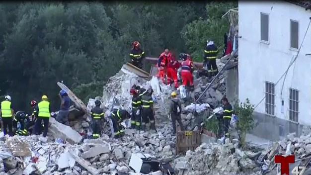 Devastación y muerte tras  terremoto en Italia