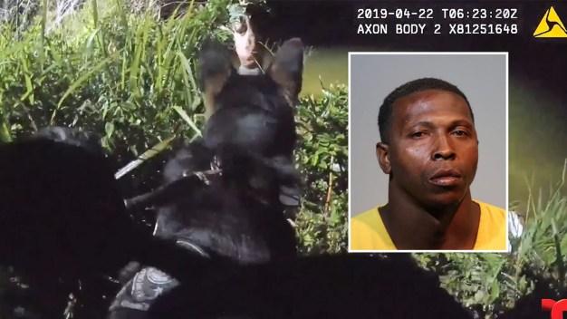 Arrestan a sospechoso de robo de auto en Sanford