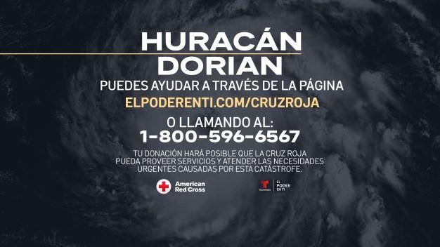 Ayuda aquí a las víctimas del huracán Dorian