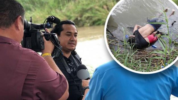 Autor cuenta historia tras foto de migrantes muertos