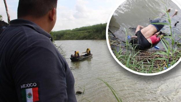 """""""La odio"""": Trump y la foto del padre e hija muertos en frontera"""