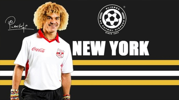 "Leyenda del fútbol ""Pibe"" Valderrama se presenta en NY"