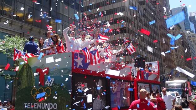 Resumen en imágenes del Desfile Nacional Puertorriqueño