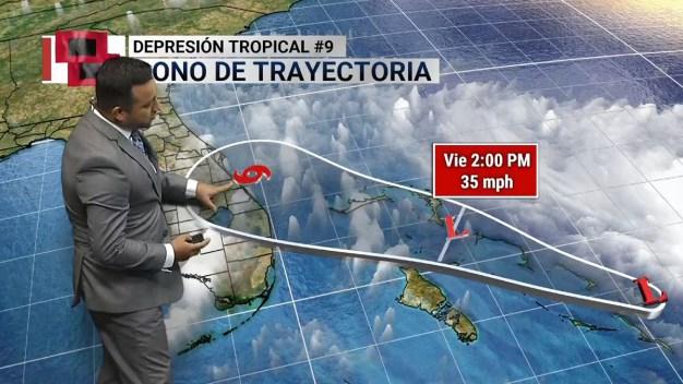 Emiten vigilancia de tormenta tropical para Volusia