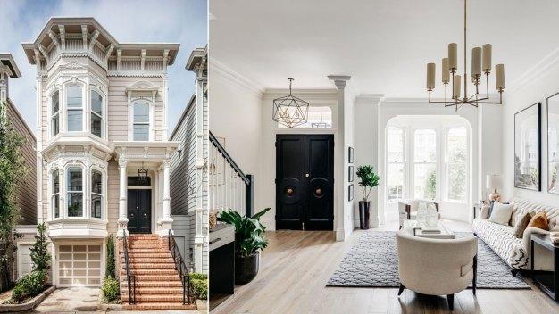 """En fotos: la icónica casa de la serie """"Full House"""" está a la venta"""