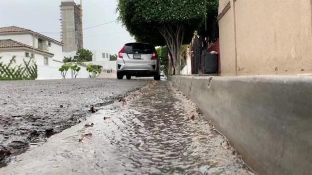Lluvias dispersas y ligeras en Tijuana