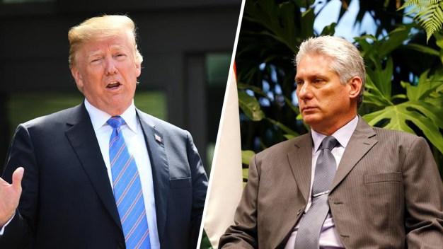 """Díaz-Canel descarta diálogo con EEUU por """"aberrante"""""""