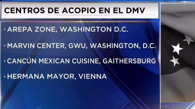 Venezolanos en el DMV aportan su granito de arena tras histórico concierto