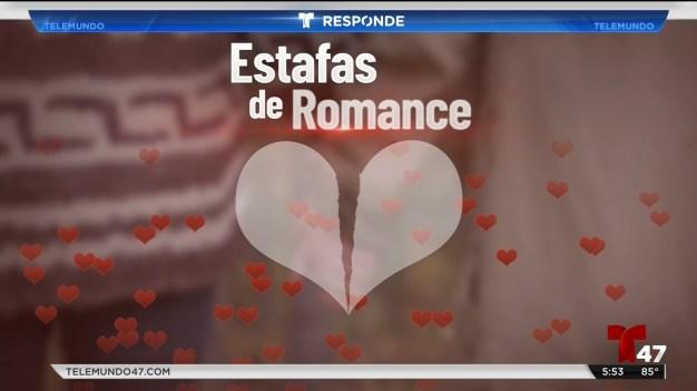 Riesgos de romance por internet
