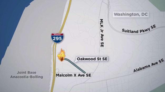 Muere hombre tras incendio en el sureste de DC