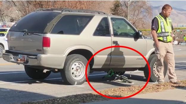 Tragedia: niñito muere atropellado al cruzar una calle
