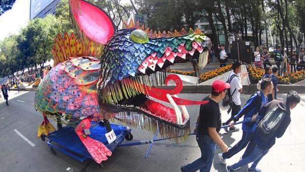 Los fantásticos alebrijes copan la Ciudad de México