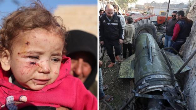 Masacre de niños: atacan a bombazos a desplazados