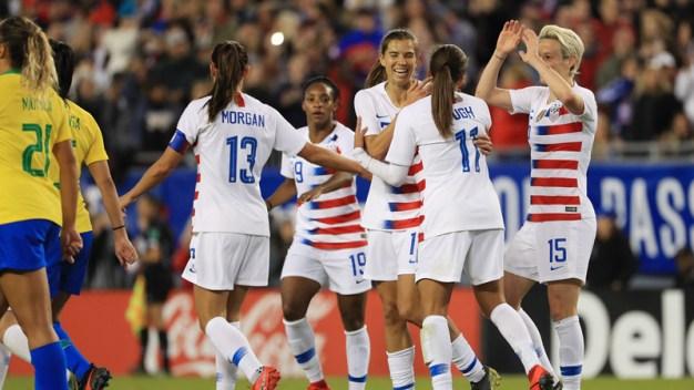 EEUU se despide con triunfo de la SheBelieves Cup