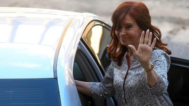 "Argentina: ""Cristina"" se postula a la vicepresidencia"