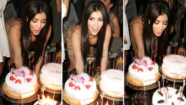 Kim Kardashian cumple 36 años sin grandes celebraciones