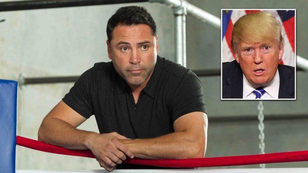 De la Hoya considera postularse a la presidencia en 2020