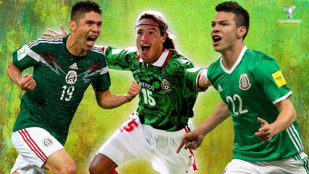 Debutantes mundialistas, los referentes de la selección mexicana