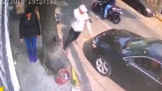 Videos capturan la delincuencia en las fiestas navideñas