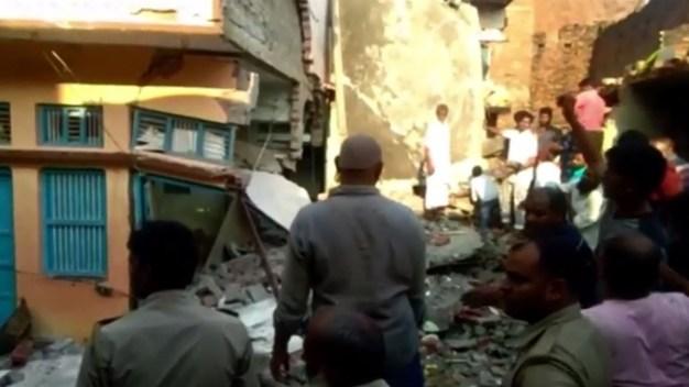 India: derrumbe de una casa deja varios muertos