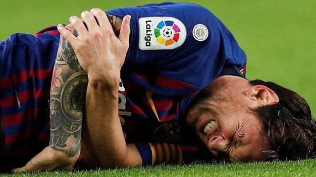 Cómo es la dolorosa fractura de Leo Messi