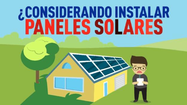 Antes de invertir en paneles solares