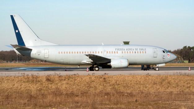 Desaparece avión militar chileno con 38 personas