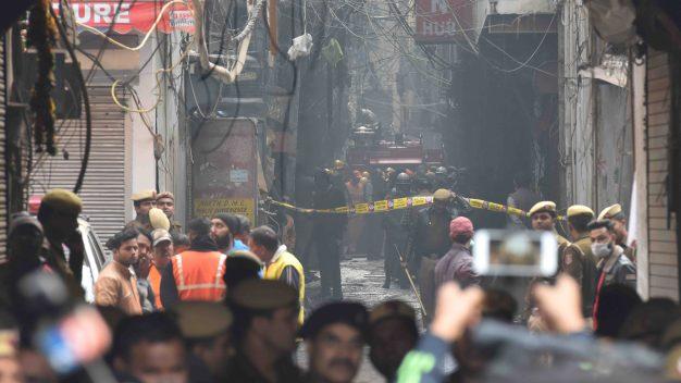 Tragedia en la India: voraz incendio cobra la vida de 43