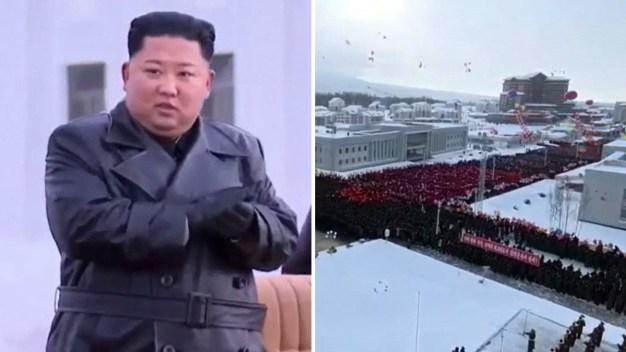 """Video: Kim crea una ciudad , su """"utopía socialista"""""""