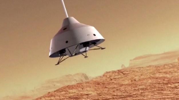 Tras llegar a la Luna, China le apunta a Marte}
