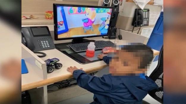 Desgarrador: abandonan a niño de tres años en la frontera