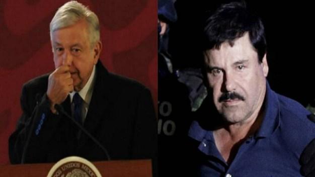 """AMLO, conmovido por condena de """"El Chapo"""", buscará su fortuna"""