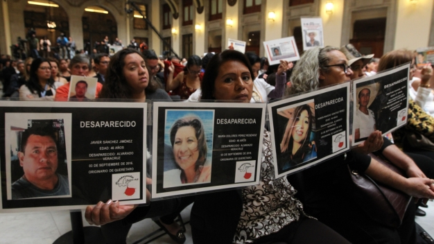 México retoma la búsqueda de desaparecidos
