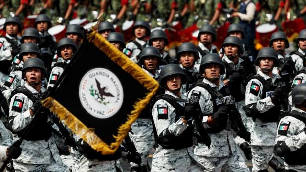 México: Guardia Nacional abre desfile de Independencia