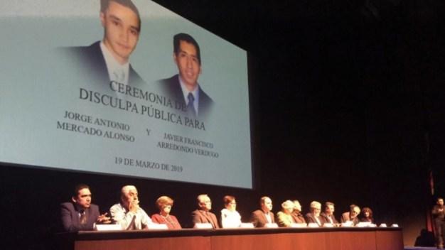 "Estado se disculpa por asesinato: ""no eran sicarios"""