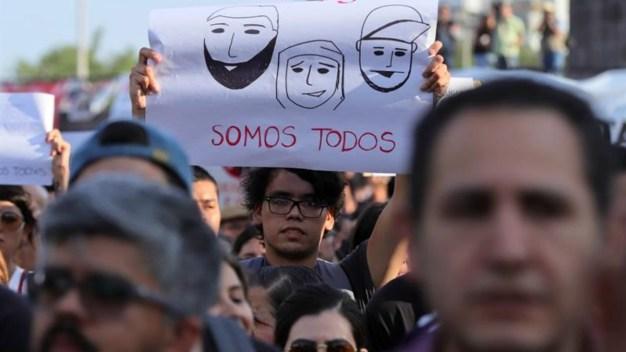 Jóvenes se movilizan contra desapariciones y asesinatos