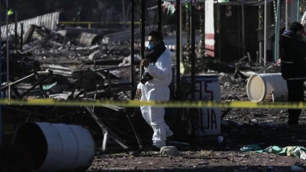 México: muertos y heridos por explosión de pirotecnia