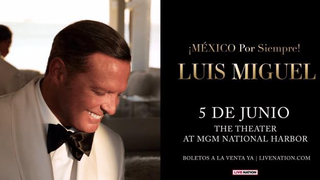 El sorteo de boletos al concierto de Luis Miguel