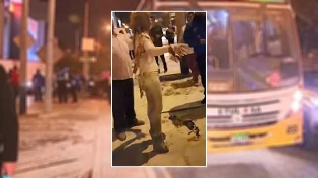 Policía: la prende fuego por no querer ser su novia