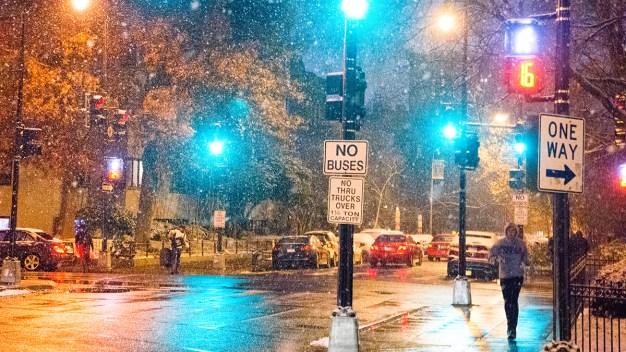 Inicio de semana lluvioso; posible nieve para el miércoles