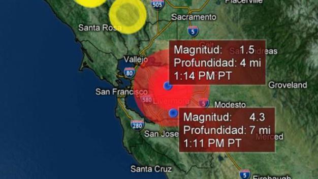 Registran sismos de magnitud 4.3 y 3.5 al este de la Bahía